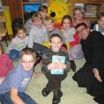 Oaza czyta dzieciom