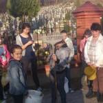 Oaza pamięta o grobach naszych zmarłych