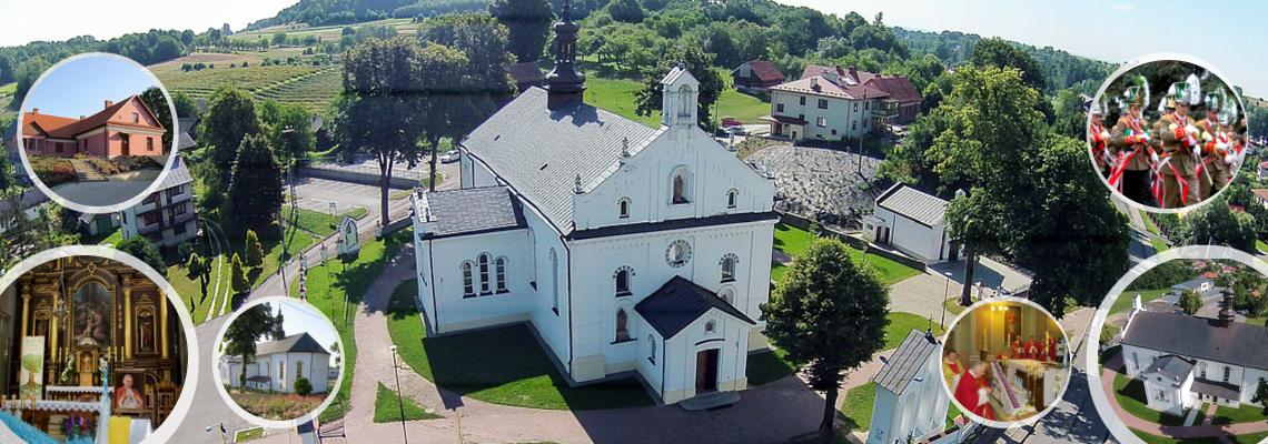 Baner Parafia Grodzisko Dolne